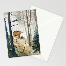 Bear Family 2 Stationery Cards
