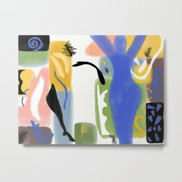 Ode to Matisse Metal Print