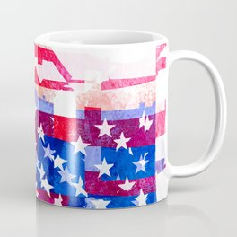 Messed Up American Flag Coffee Mug