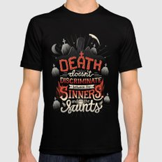 Sinners and Saints Black X-LARGE Mens Fitted Tee