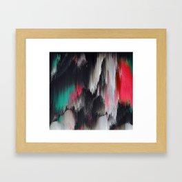 Sometimes I stutter Framed Art Print