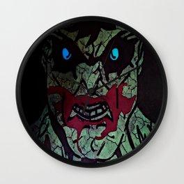 The Hulk Wall Clock