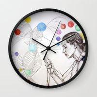 destiny Wall Clocks featuring Destiny by Heaven7