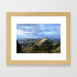 Otago Peninsula -New Zealand Framed Art Print