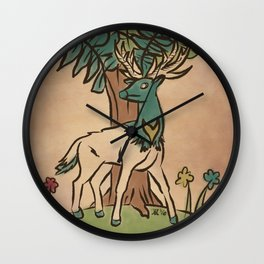 The Guardian Stag Wall Clock