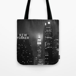 Empire State Building at Night Tote Bag
