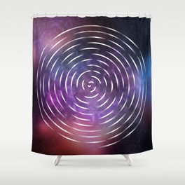 Galactic spin Shower Curtain