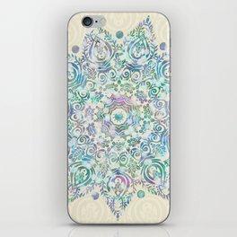 Mermaid Dreams Mandala iPhone Skin
