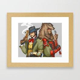 Outfit Swap Framed Art Print