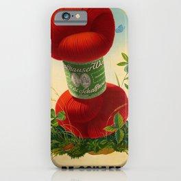 Advertisement laine de schaffouse  laine iPhone Case