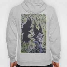 Maleficent Sugar Skull Hoody