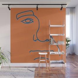 Bill Murray - Steve Zissou palette Wall Mural