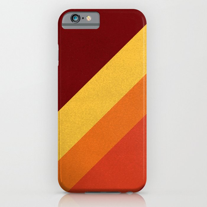 Retro 70s Color Palette II iPhone Case
