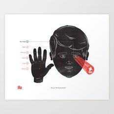 The Human Senses Art Print
