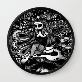 Arcturian In Wonderland Wall Clock