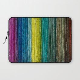 Colorful fibers Laptop Sleeve