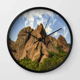 Red Rocks In Roxborough State Park Wall Clock