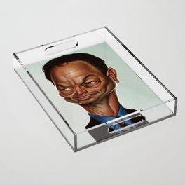 Gary Sinise Acrylic Tray