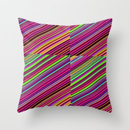 Re-Created Cross No. 23 by Robert S. Lee Throw Pillow