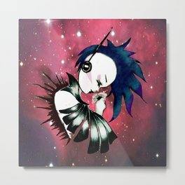 space LOVE Metal Print