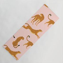 Leopard pattern Yoga Mat