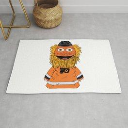 Gritty The Mascot  Rug