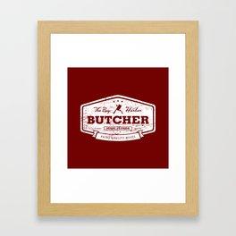 The Bay Harbor Butcher Framed Art Print