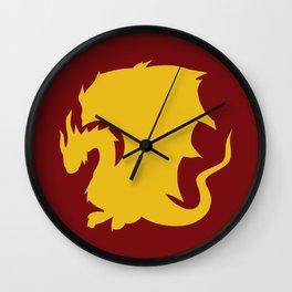 Pendragon Crest Wall Clock