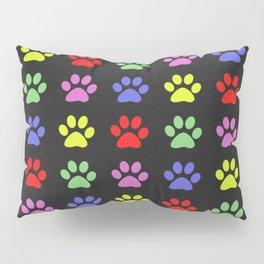 Paw Prints Pattern II Pillow Sham