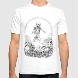 Death and Harmonica T-shirt