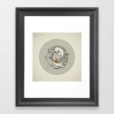 Forest /// Funeral Framed Art Print