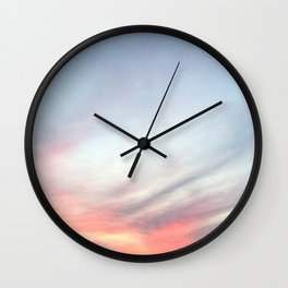 Dreamy Sky Wall Clock