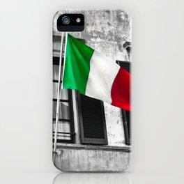 Italian Pride iPhone Case