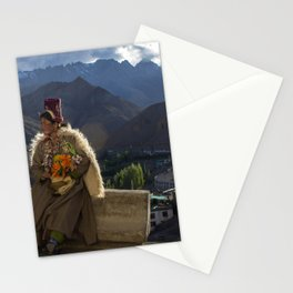 The Goddess of Leh Stationery Cards