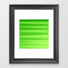 Green Goddess. Framed Art Print