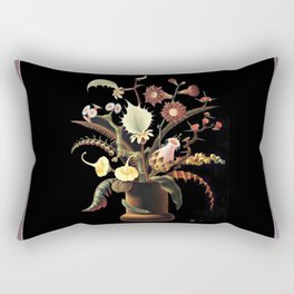 Franz Sedlacek Eerie Flowers Rectangular Pillow