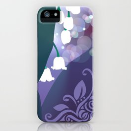 Hiding Lily iPhone Case