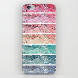 Vincent Van Gogh : Almond Blossoms Rainbow Panel ART iPhone Skin