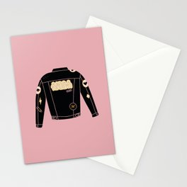 Cool jacket series 2 Stationery Cards