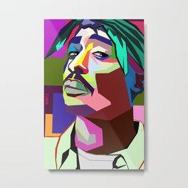 Tupac (all eyes on me) Metal Print