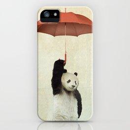 Pandachute iPhone Case