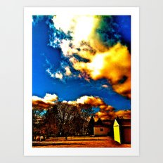 Country Day  Art Print