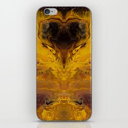 The Hunger Game, fluid acrylic iPhone Skin