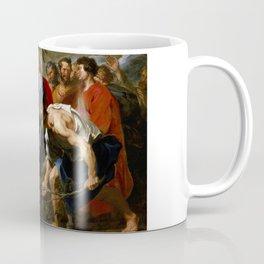 "Sir Anthony van Dyck ""Entry of Christ into Jerusalem"" Coffee Mug"