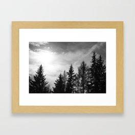 Come Down Framed Art Print