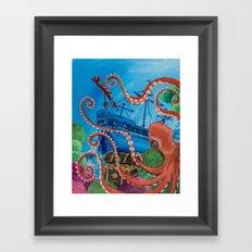Clotiles Ocean Adventure Framed Art Print
