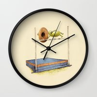 record Wall Clocks featuring World Record by Eric Fan