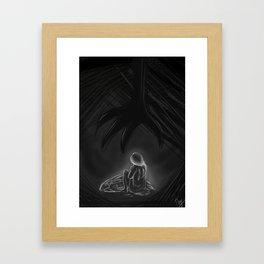Worthless Framed Art Print