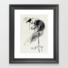 Find me into myself Framed Art Print