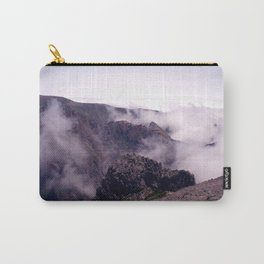 Mountain view in de clouds Carry-All Pouch